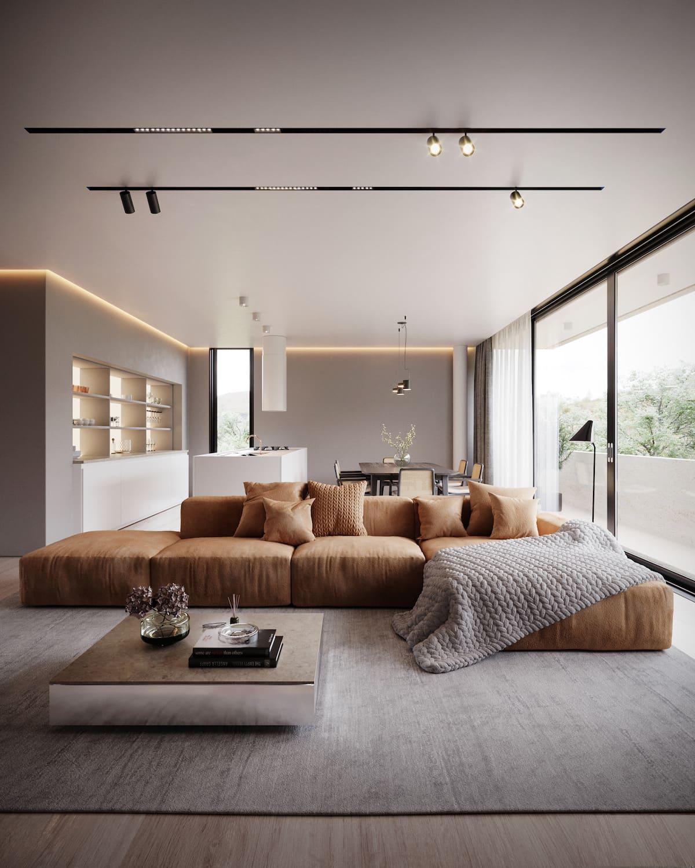 красивый дизайн потолка фото 63