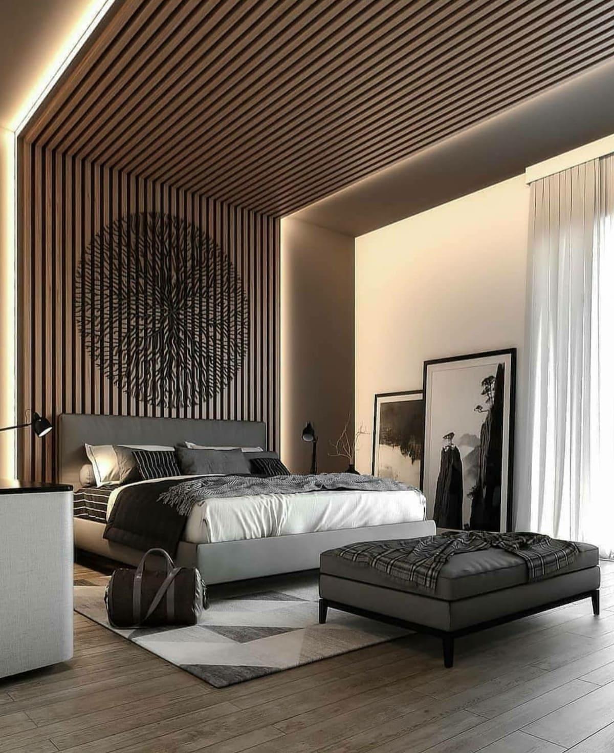 красивый дизайн потолка фото 43