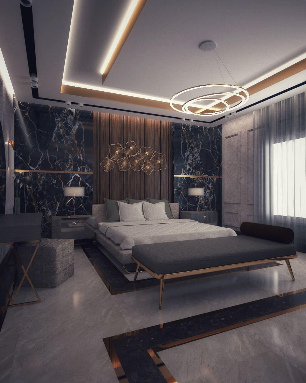 красивый дизайн потолка фото 66
