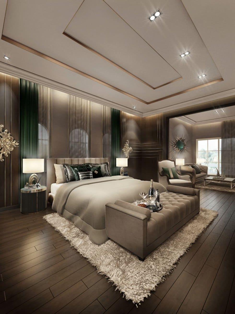 красивый дизайн потолка фото 45