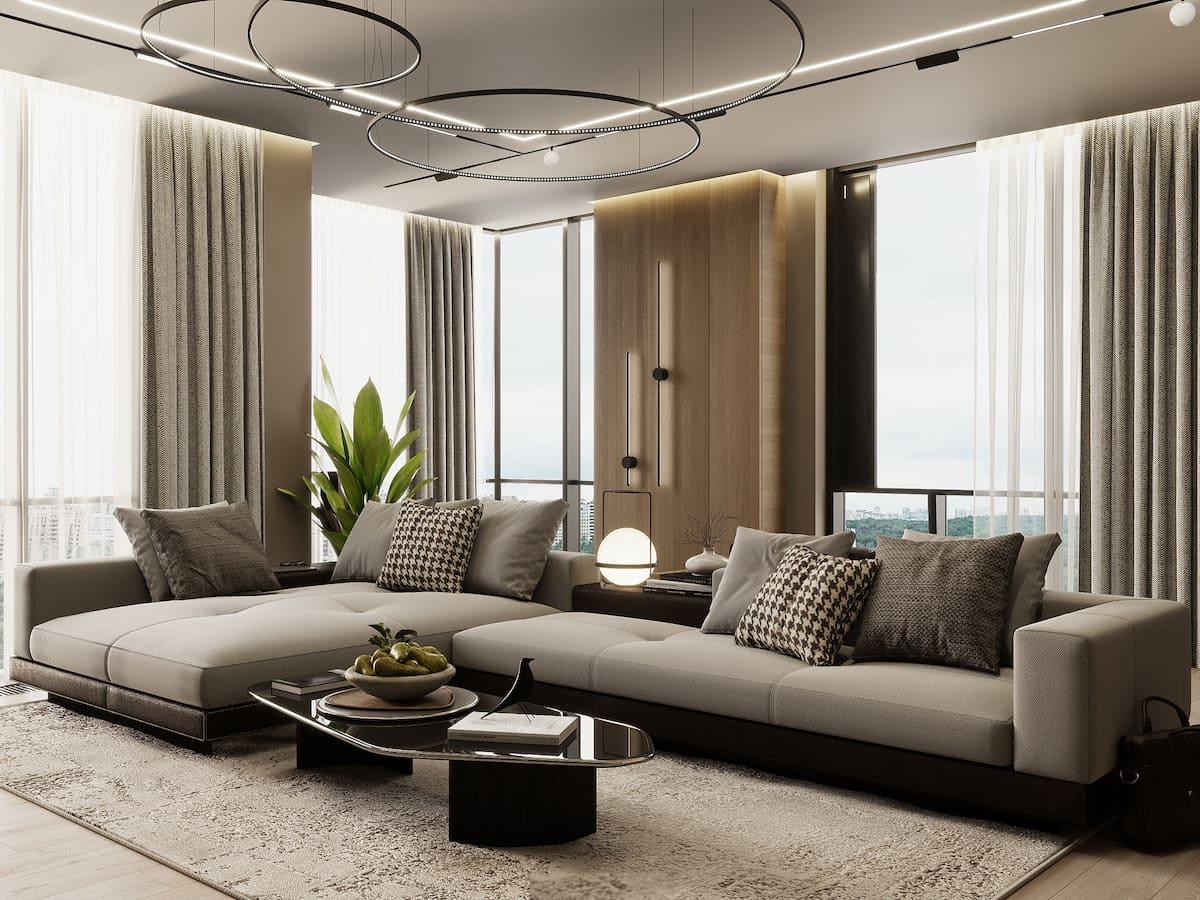 красивый дизайн потолка фото 64