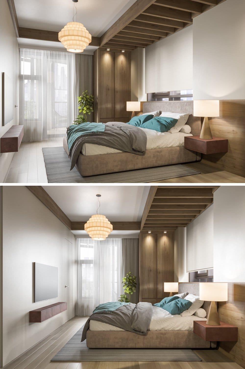 красивый дизайн потолка фото 7