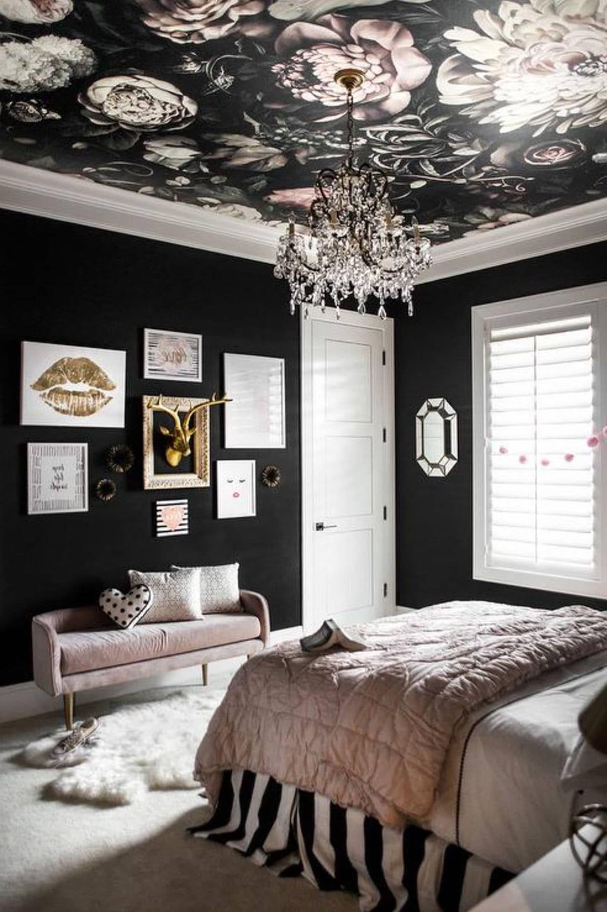 красивый дизайн потолка фото 29