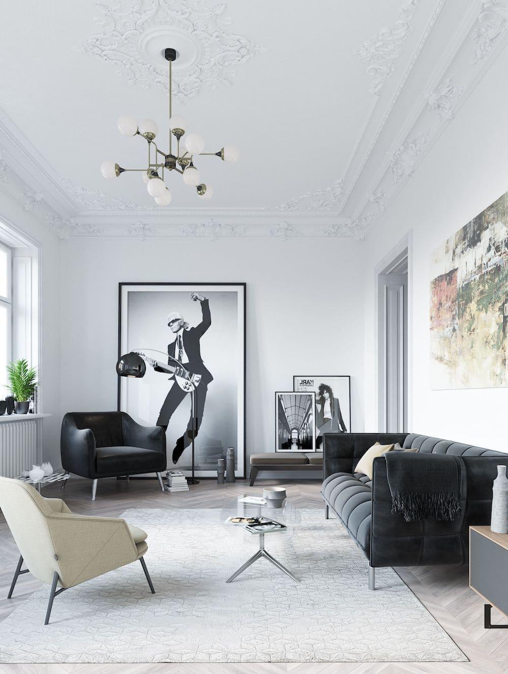 красивый дизайн потолка фото 26
