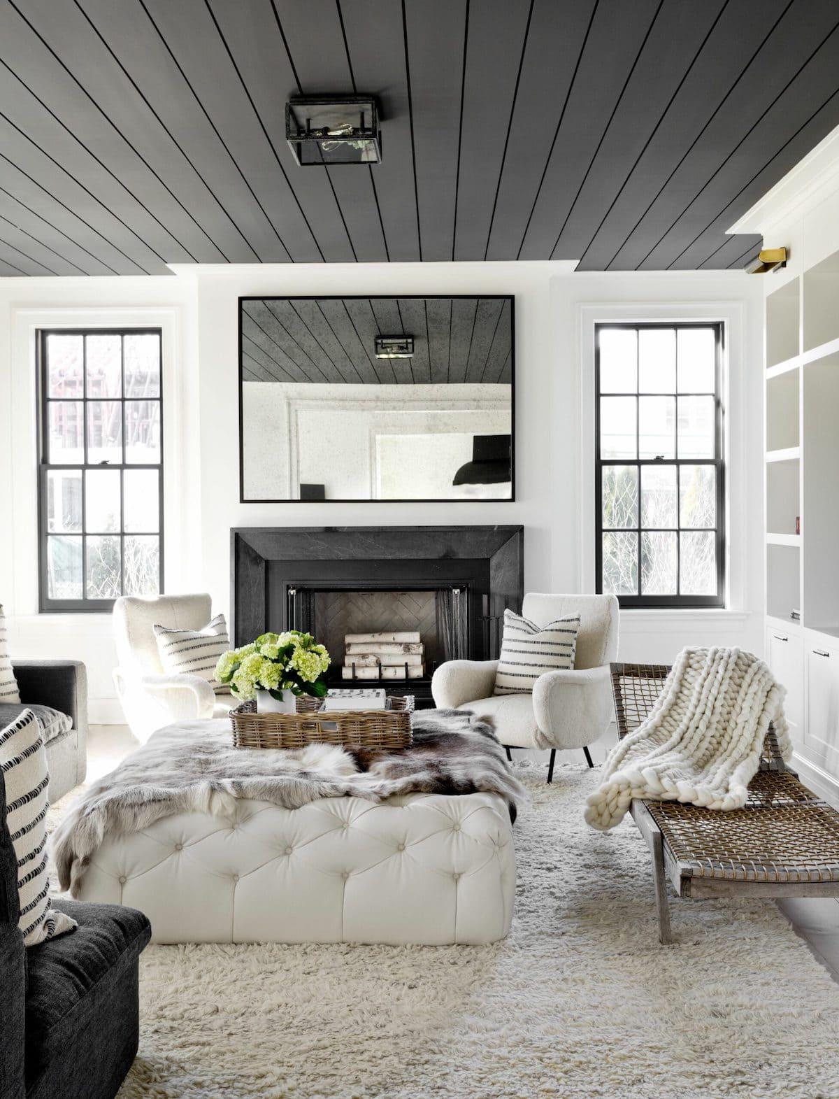красивый дизайн потолка фото 32