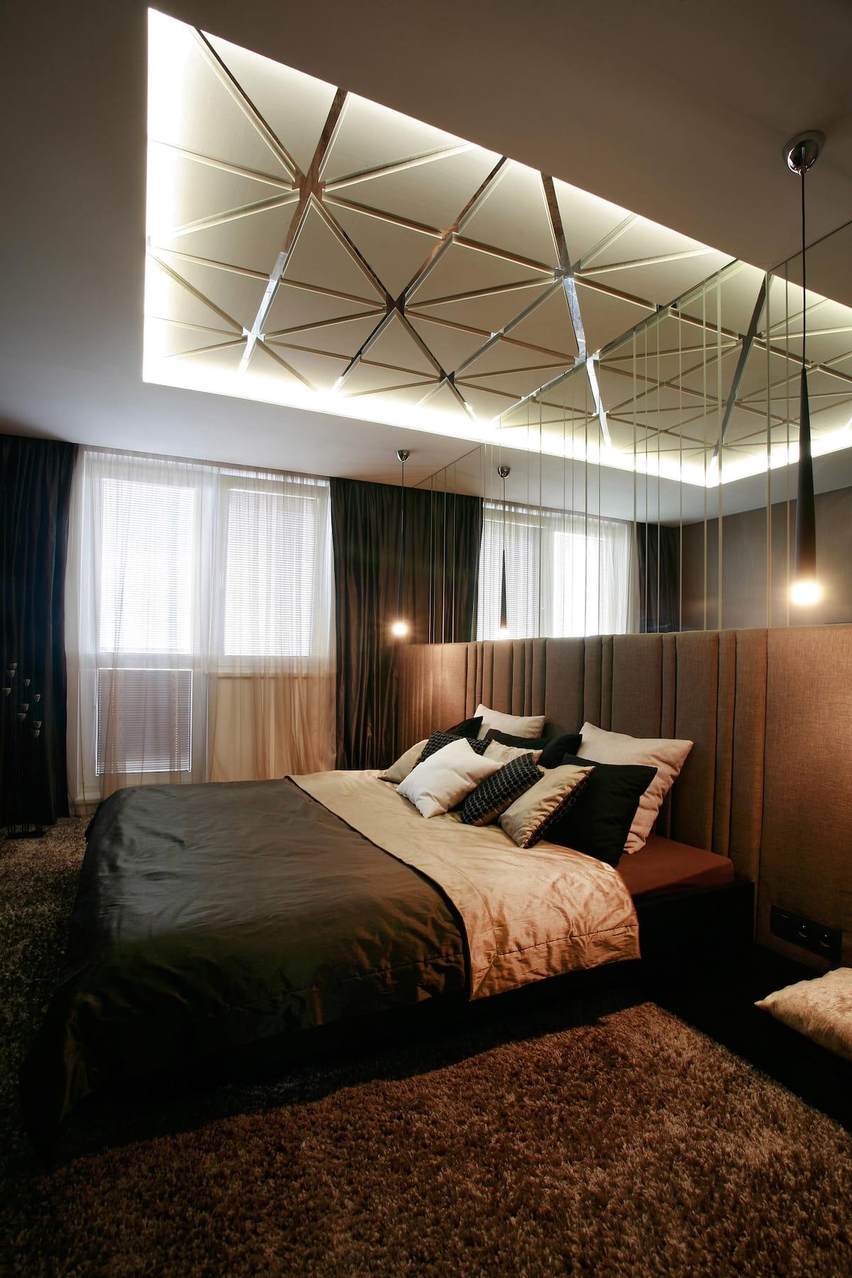 красивый дизайн потолка фото 11