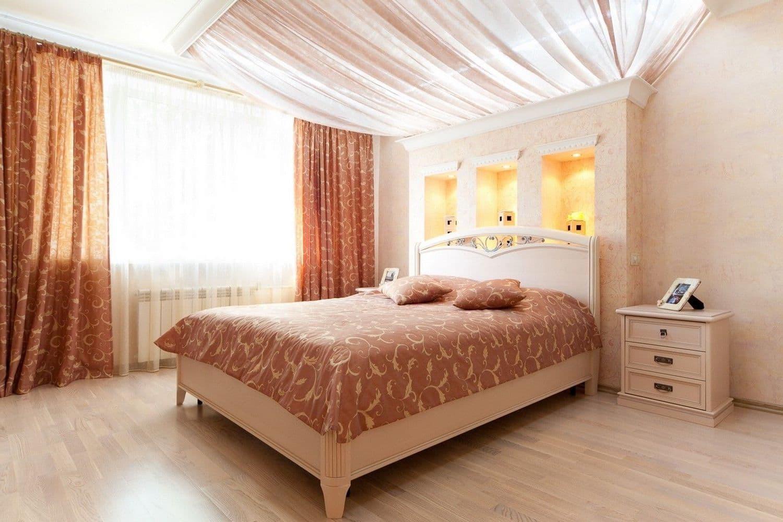 красивый дизайн потолка фото 12