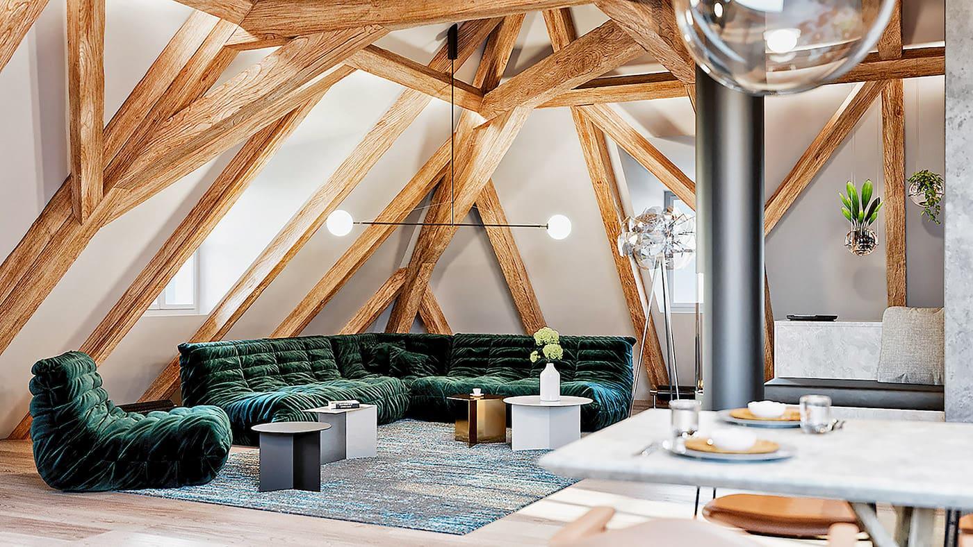 красивый дизайн потолка фото 74