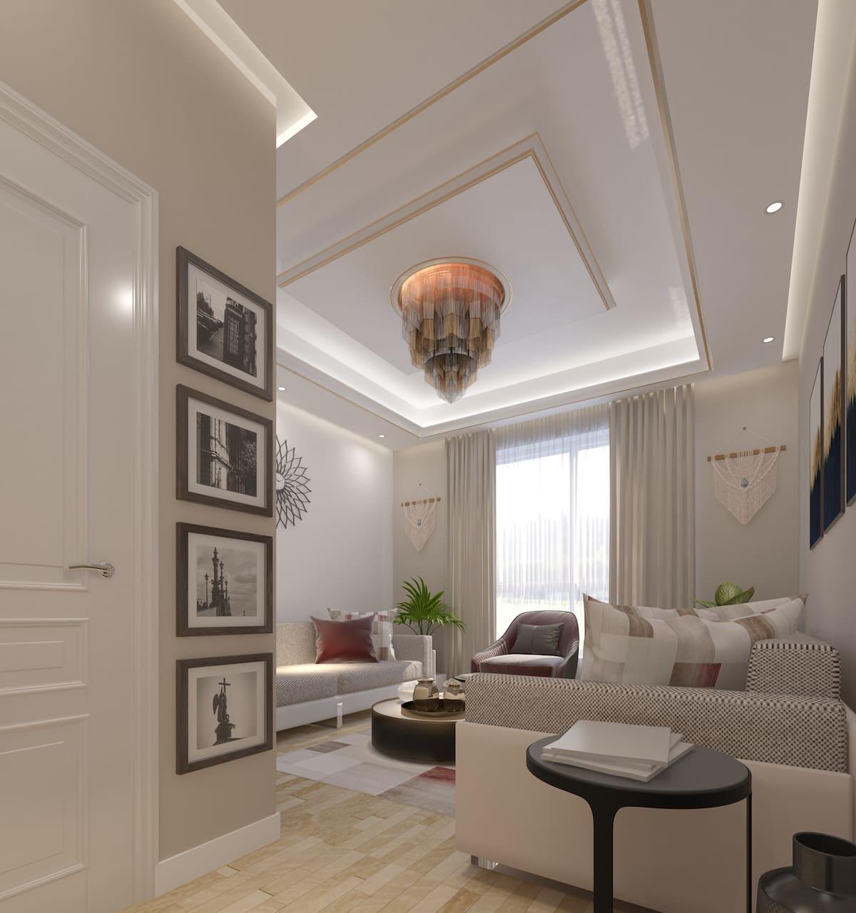 красивый дизайн потолка фото 73