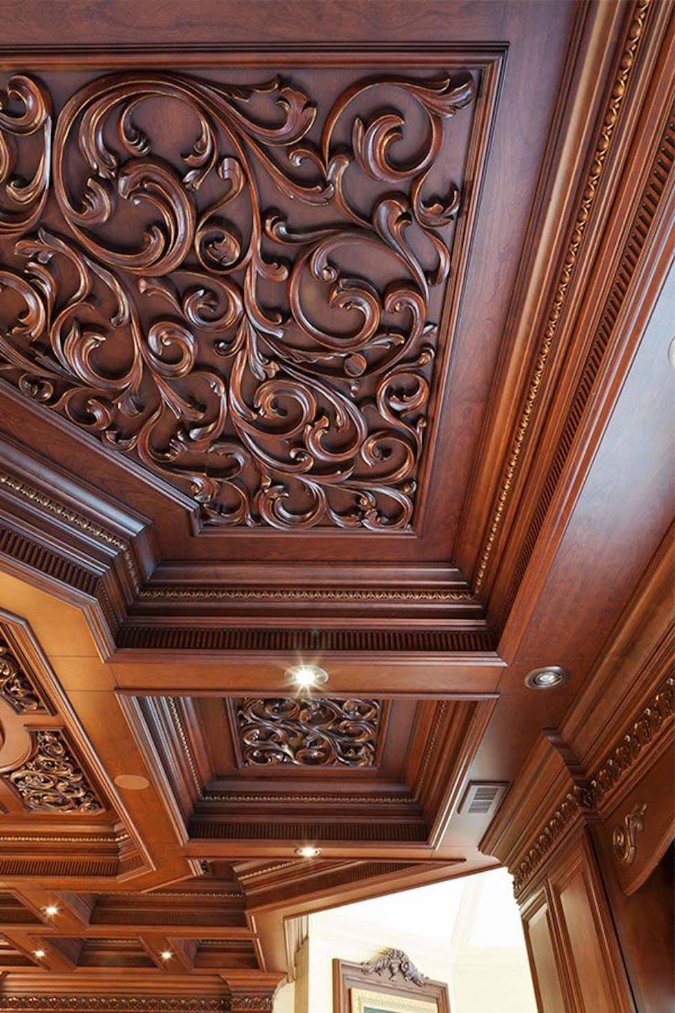 красивый дизайн потолка фото 78
