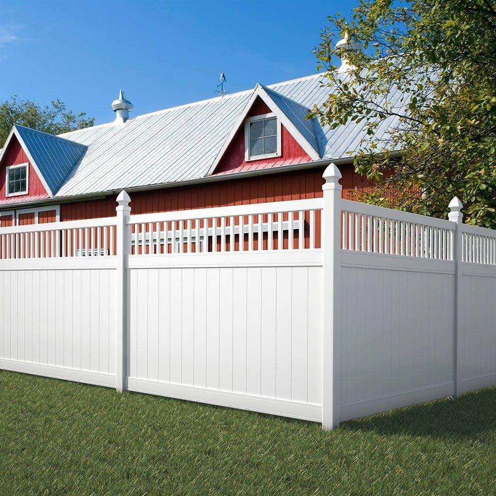 красивый деревянный забор фото 37
