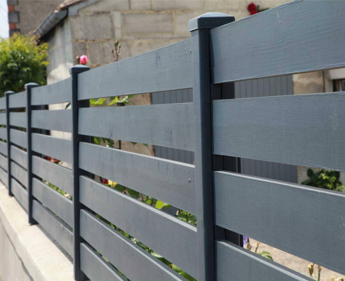 красивый деревянный забор фото 5