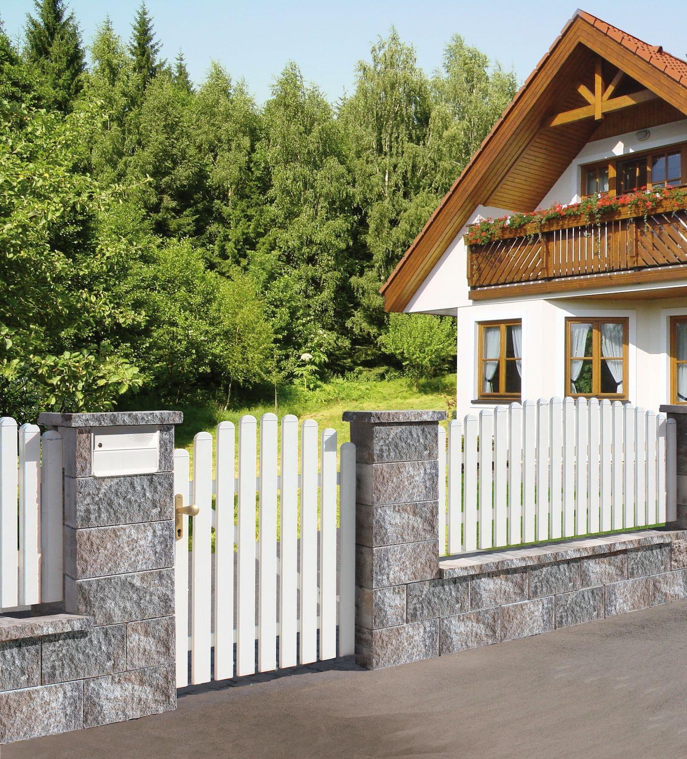 красивый деревянный забор фото 9