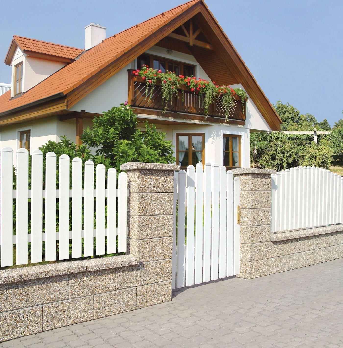 красивый деревянный забор фото 31