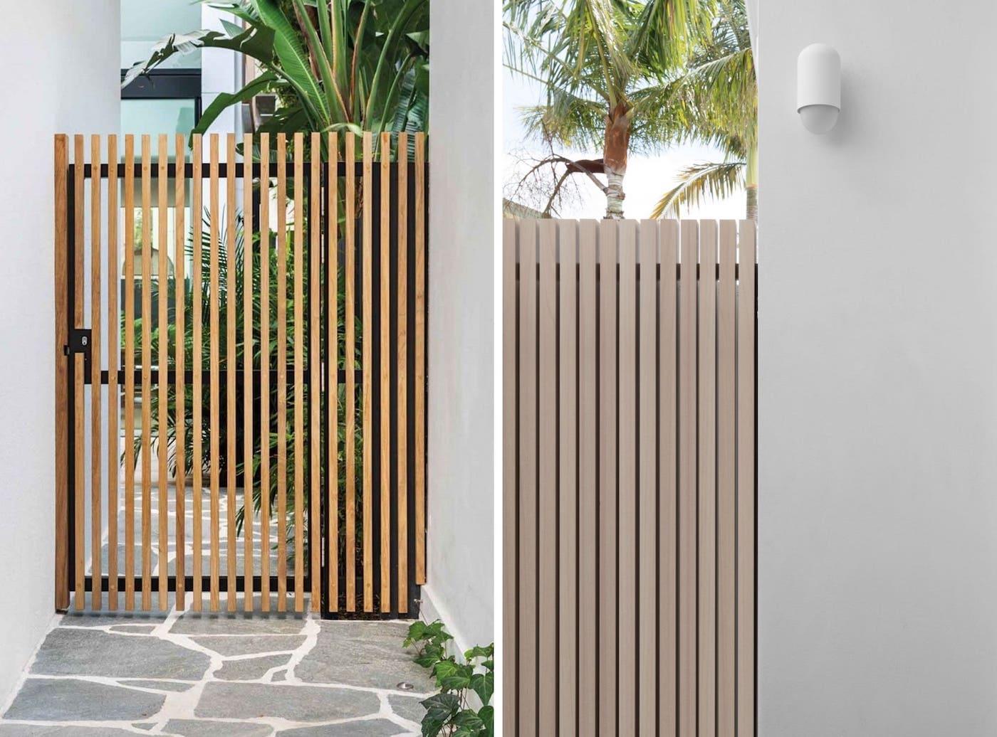 красивый деревянный забор фото 32