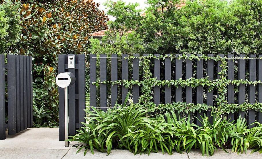 красивый деревянный забор фото 4