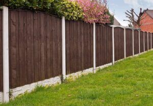 красивый деревянный забор фото 50