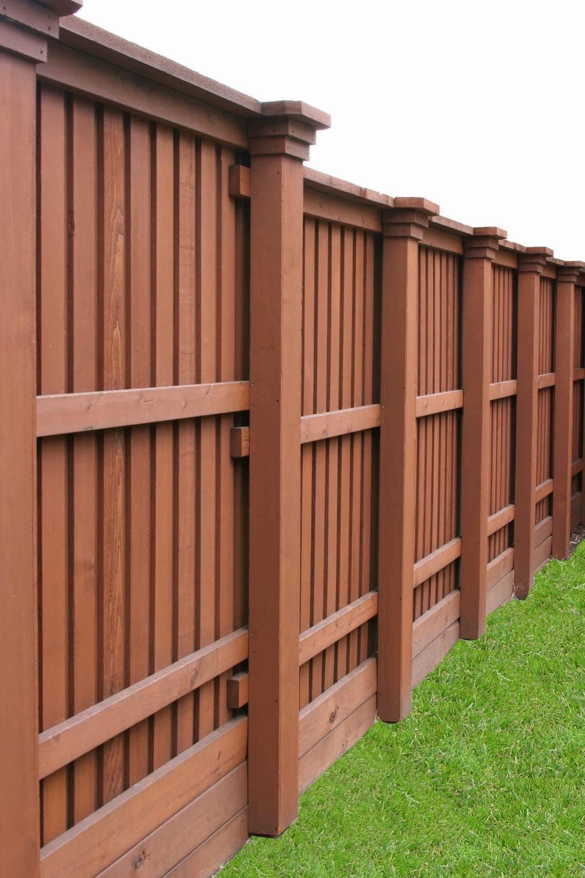 красивый деревянный забор фото 12
