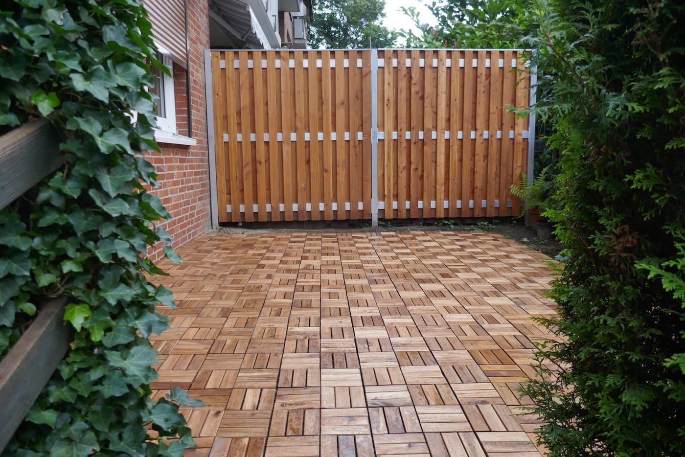 красивый деревянный забор фото 44