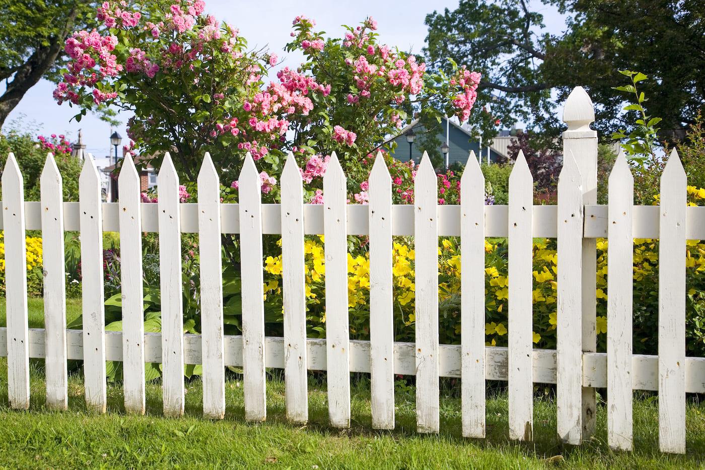 красивый деревянный забор фото 33