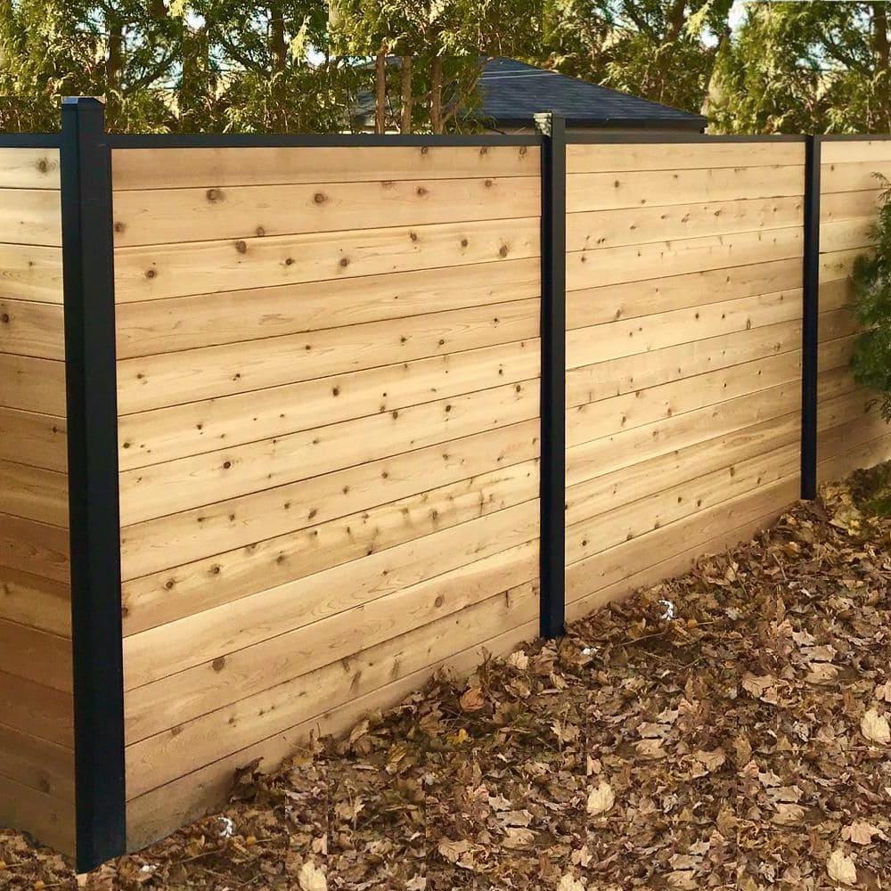 красивый деревянный забор фото 14