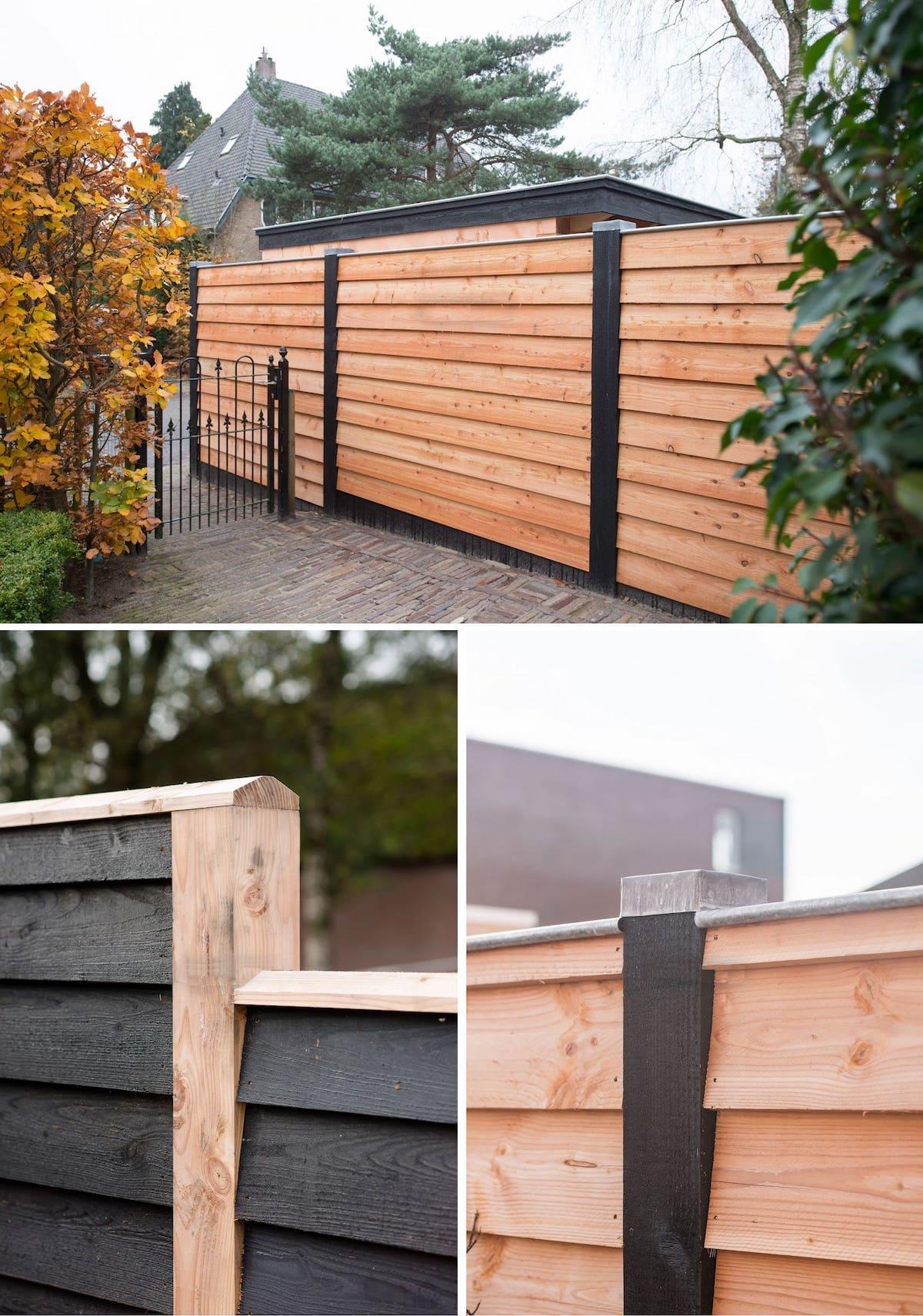 красивый деревянный забор фото 18