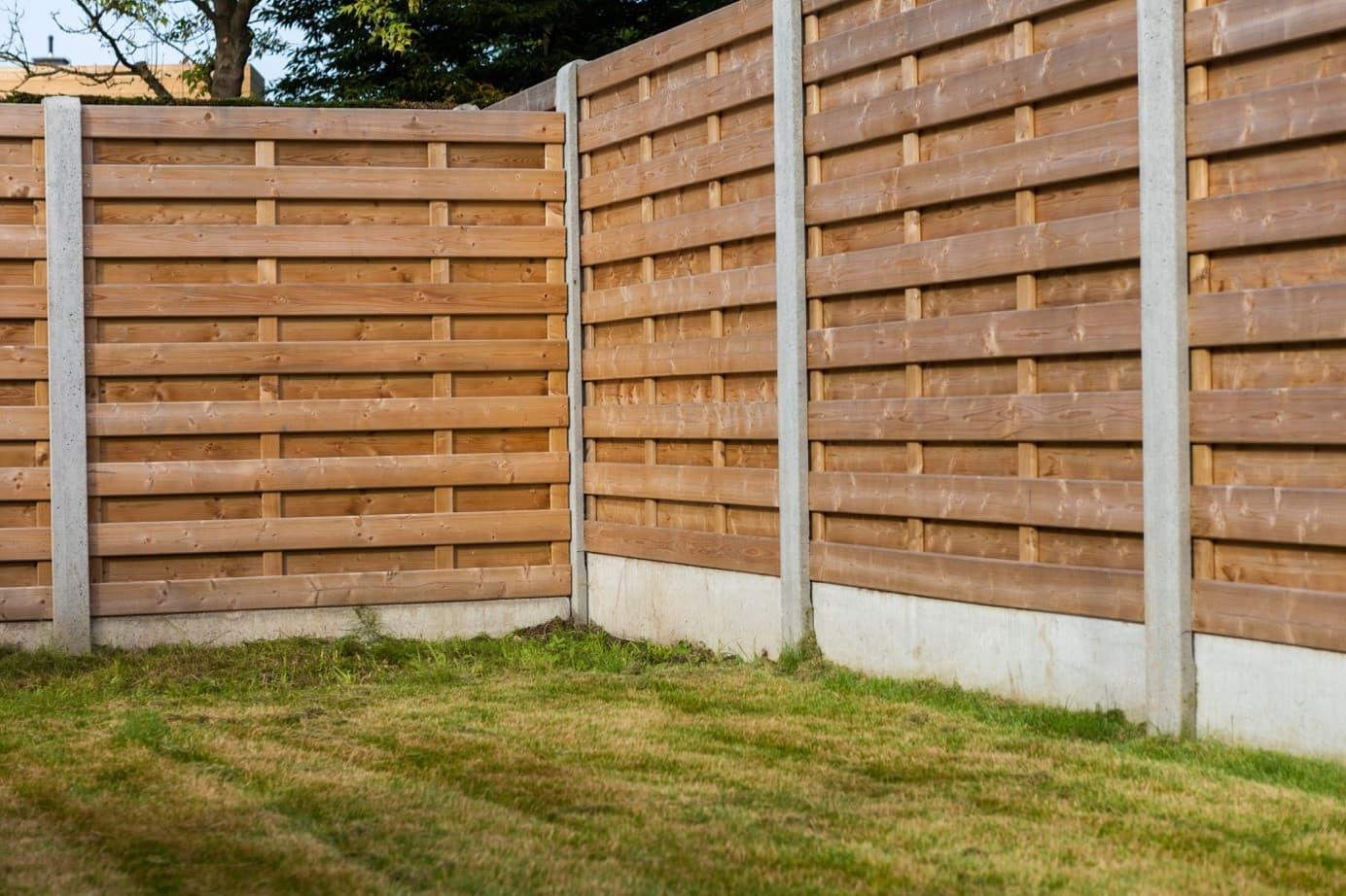 красивый деревянный забор фото 40