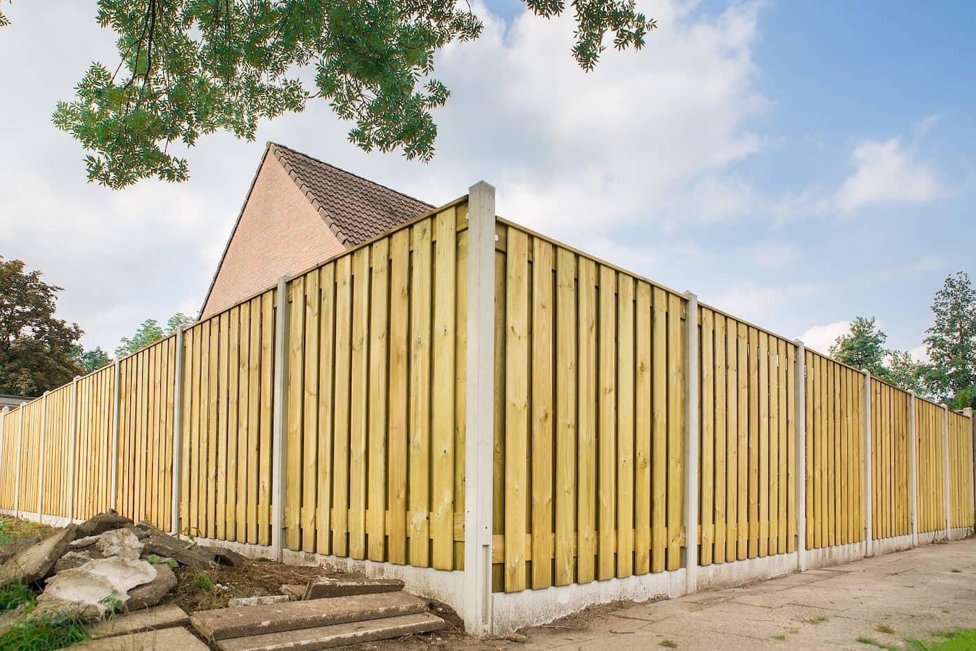 красивый деревянный забор фото 41