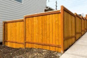 красивый деревянный забор фото 47