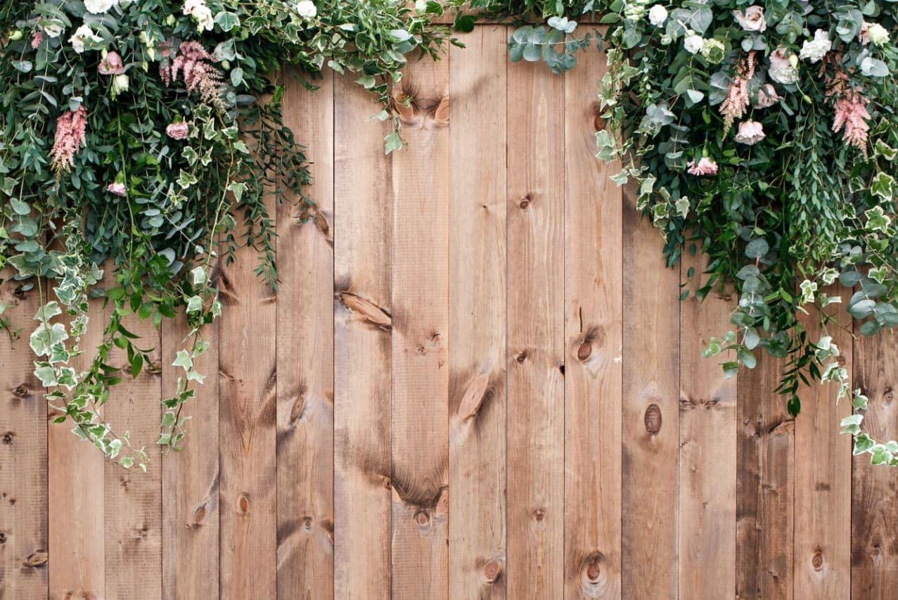 красивый деревянный забор фото 29