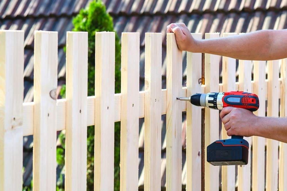 красивый деревянный забор фото 6