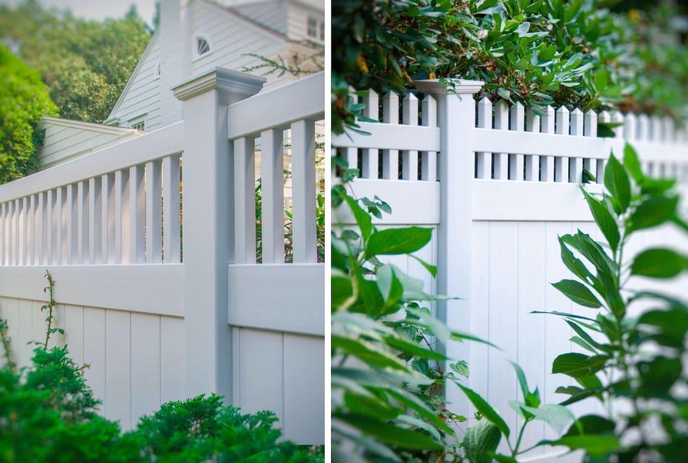 красивый деревянный забор фото 36