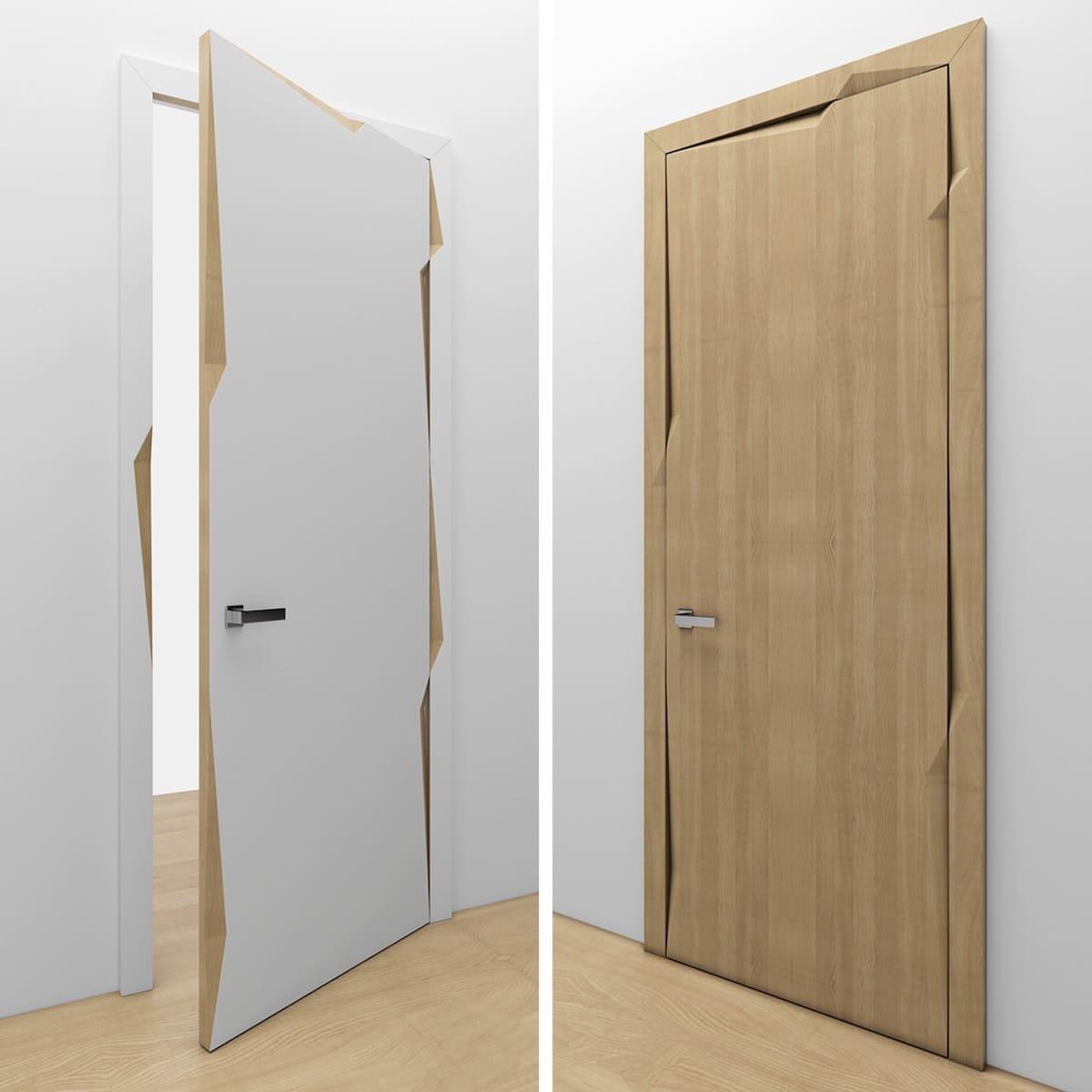 модные межкомнатные двери фото 43