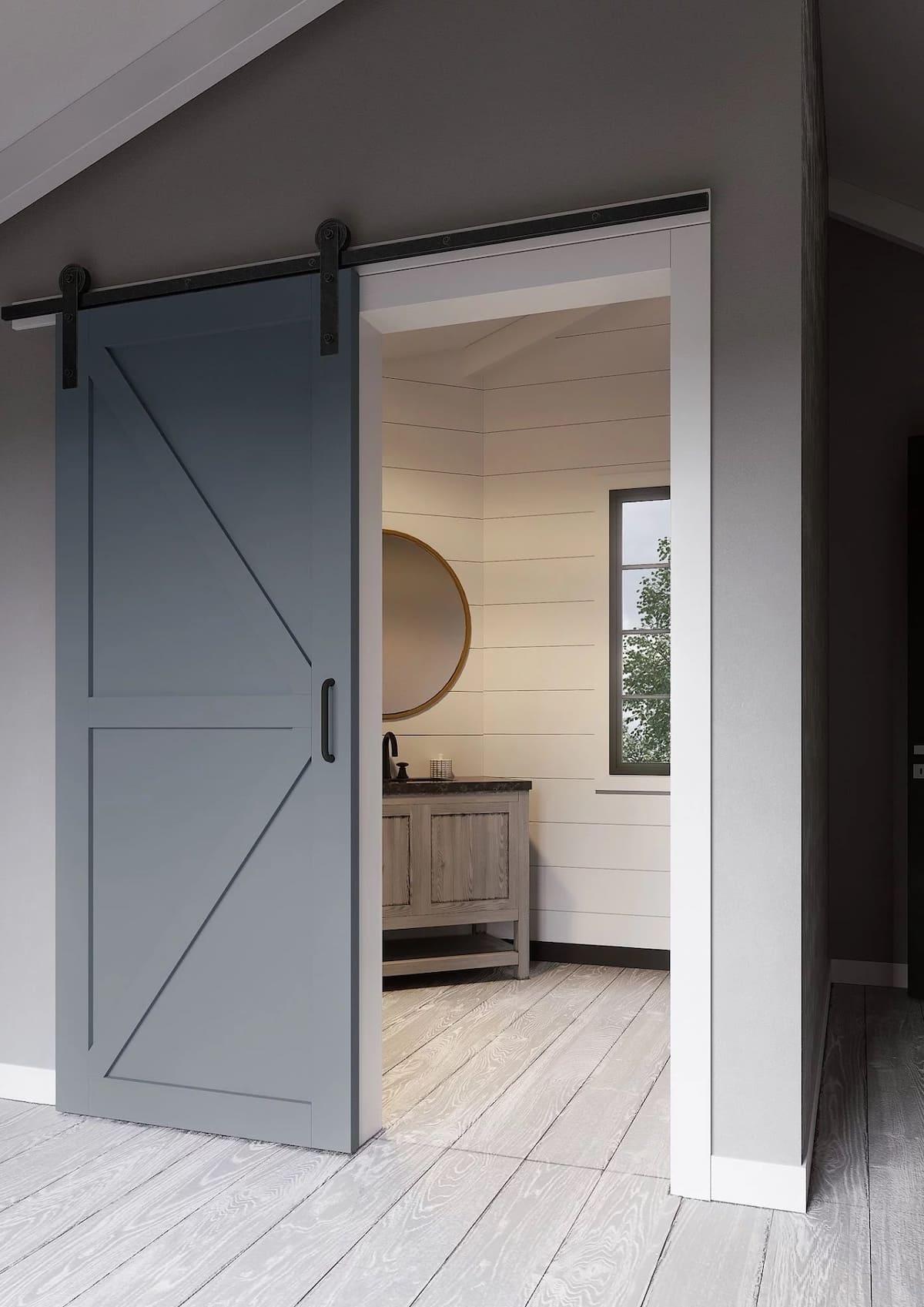 модные межкомнатные двери фото 24