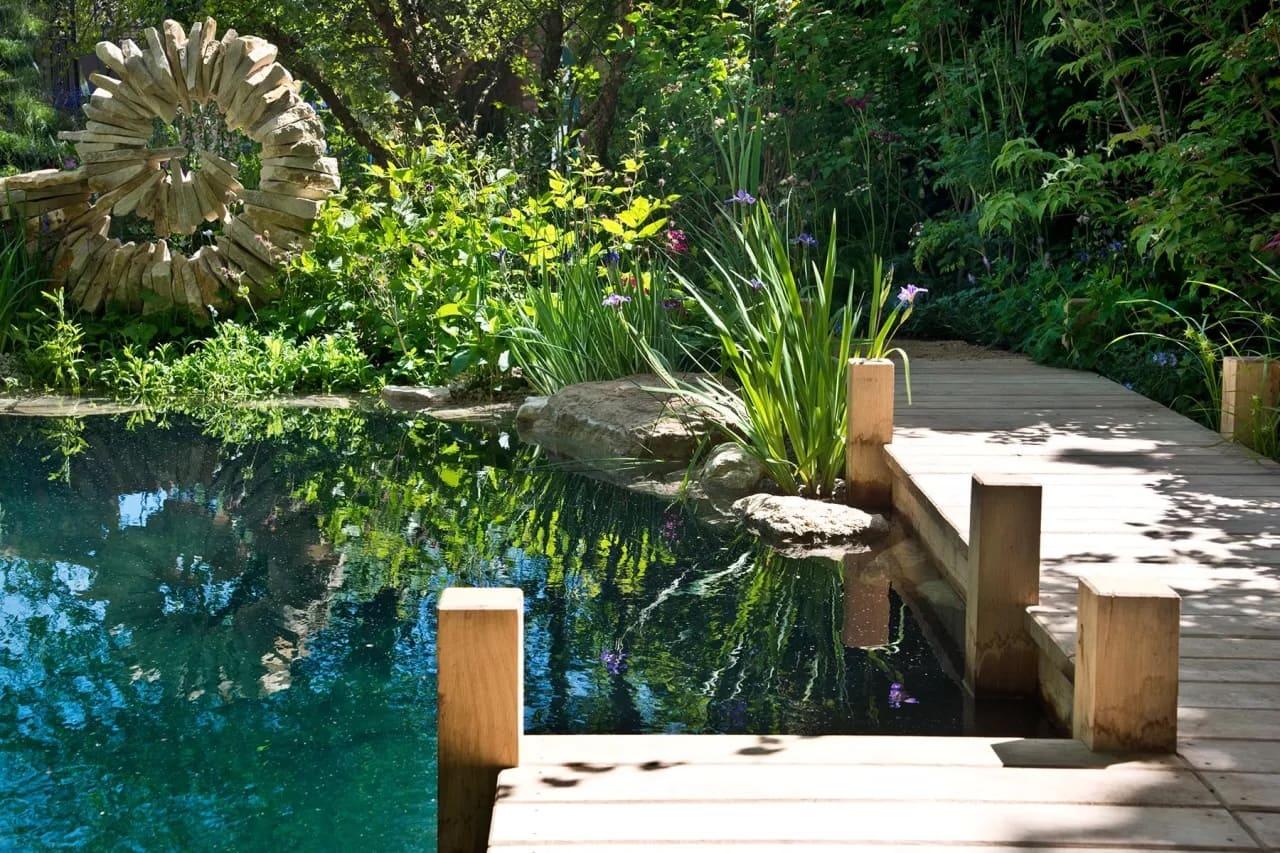 красивый сад частного дома фото 9