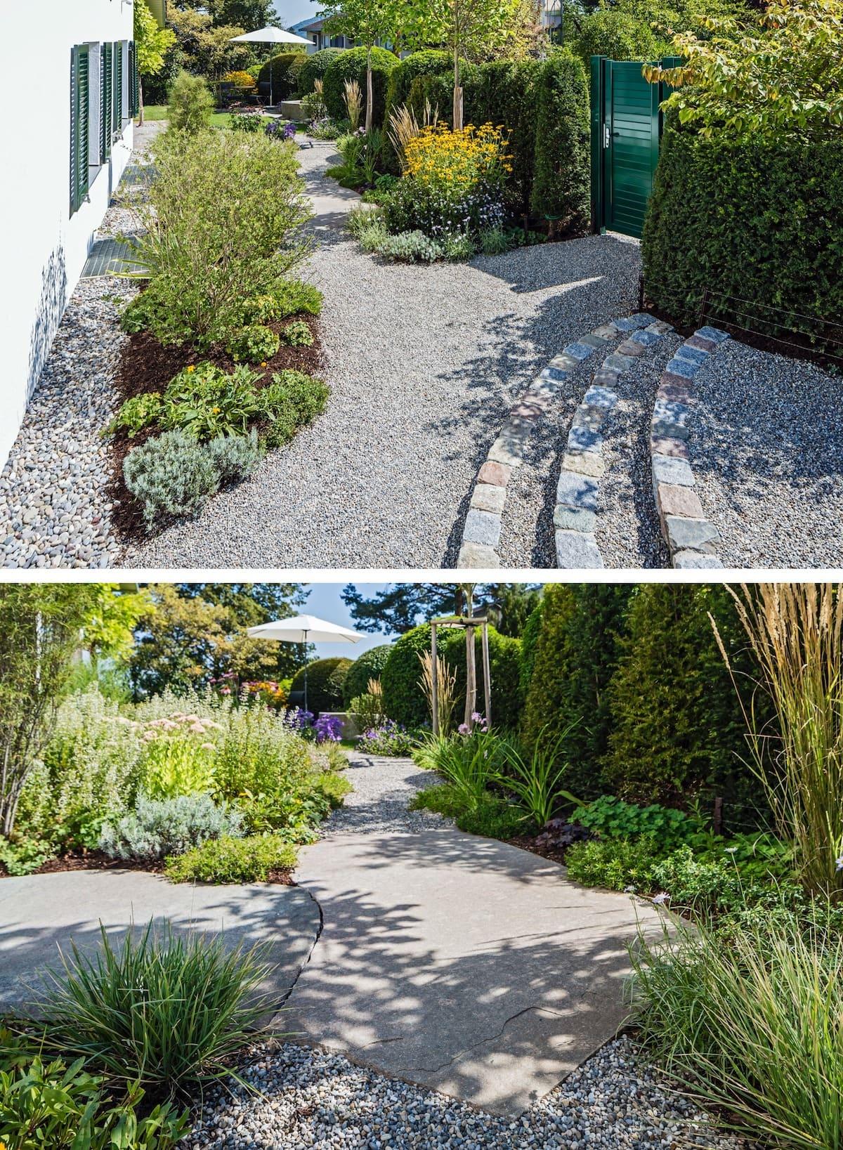 красивый сад частного дома фото 3