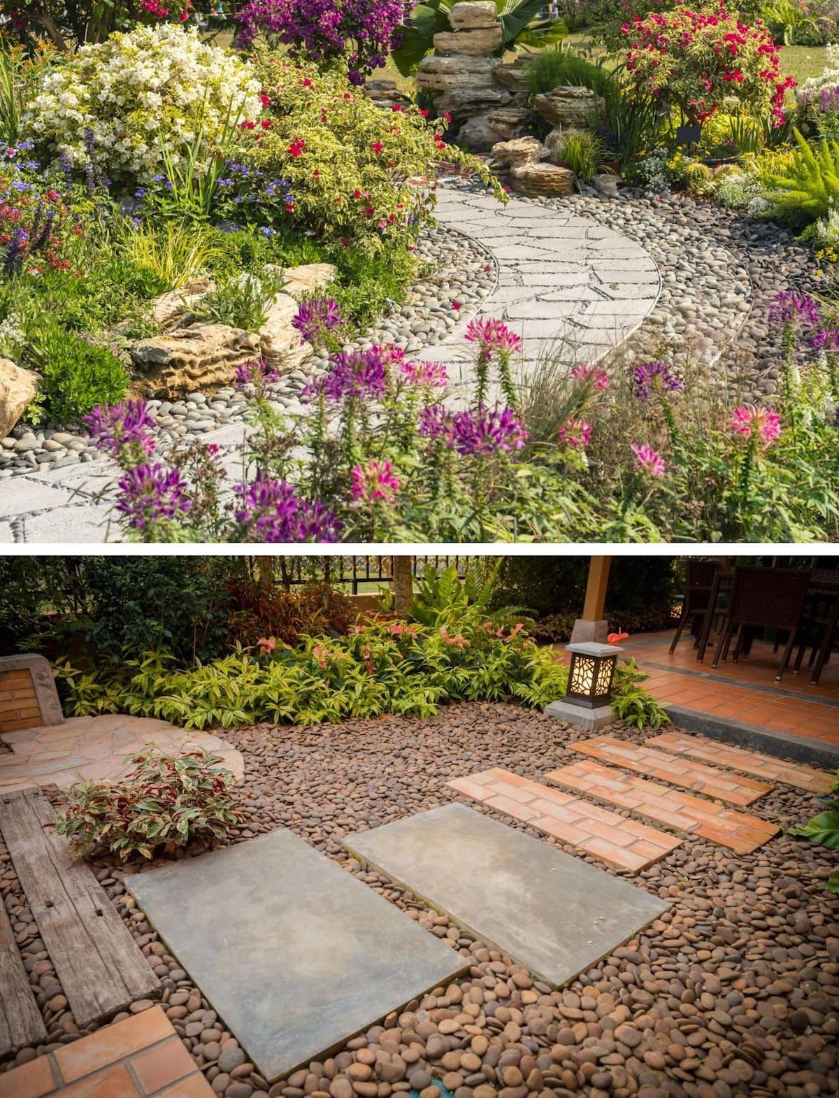 красивый сад частного дома фото 4