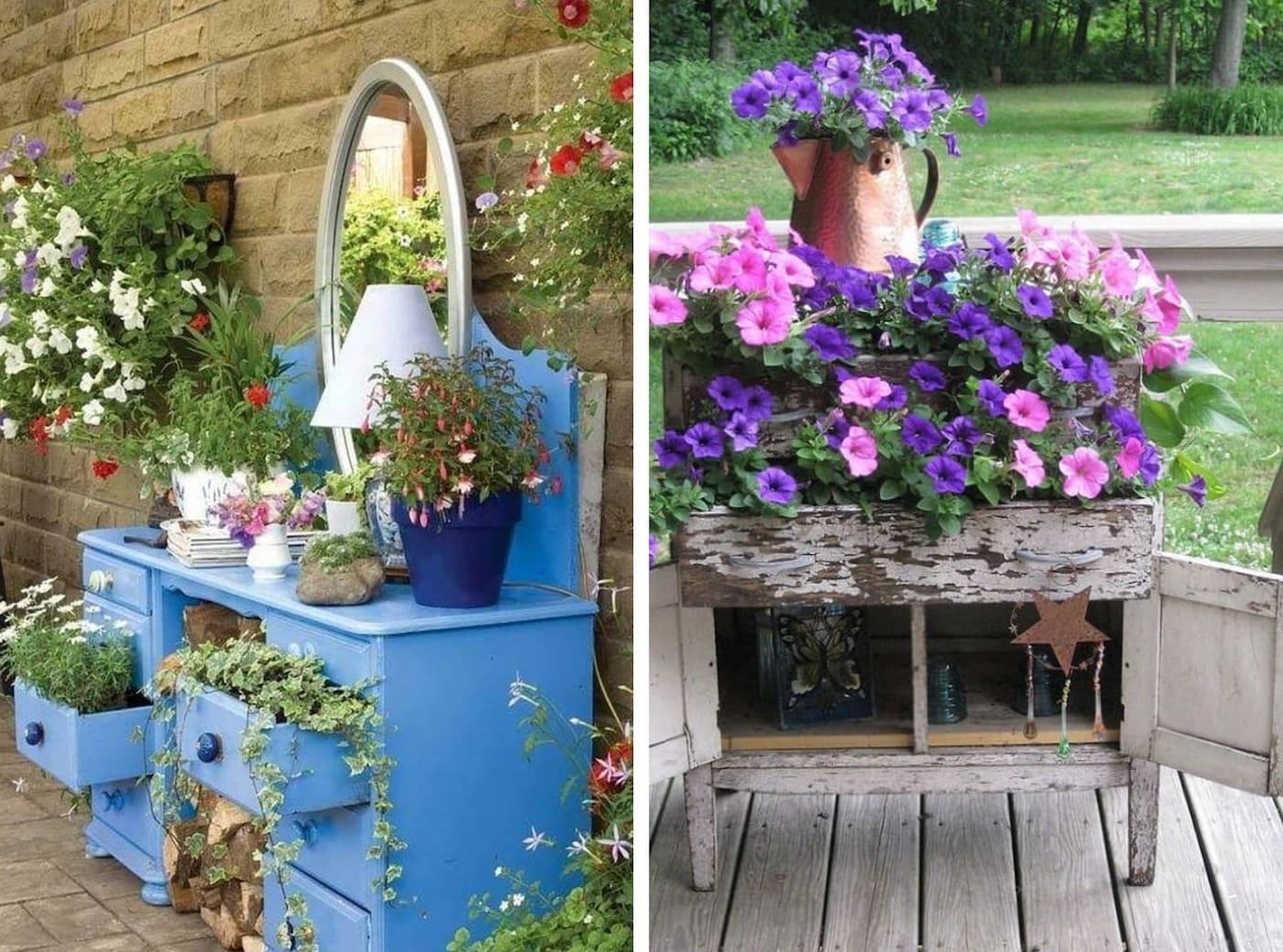 красивый сад частного дома фото 11