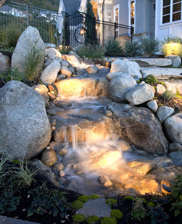 красивый сад частного дома фото 19