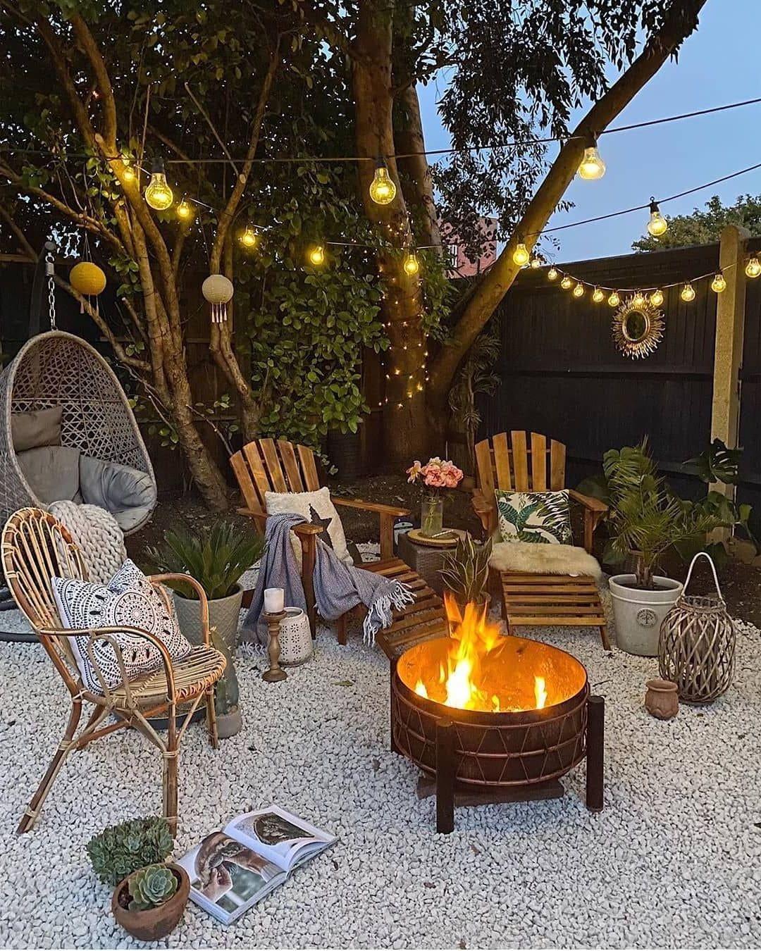 красивый сад частного дома фото 53