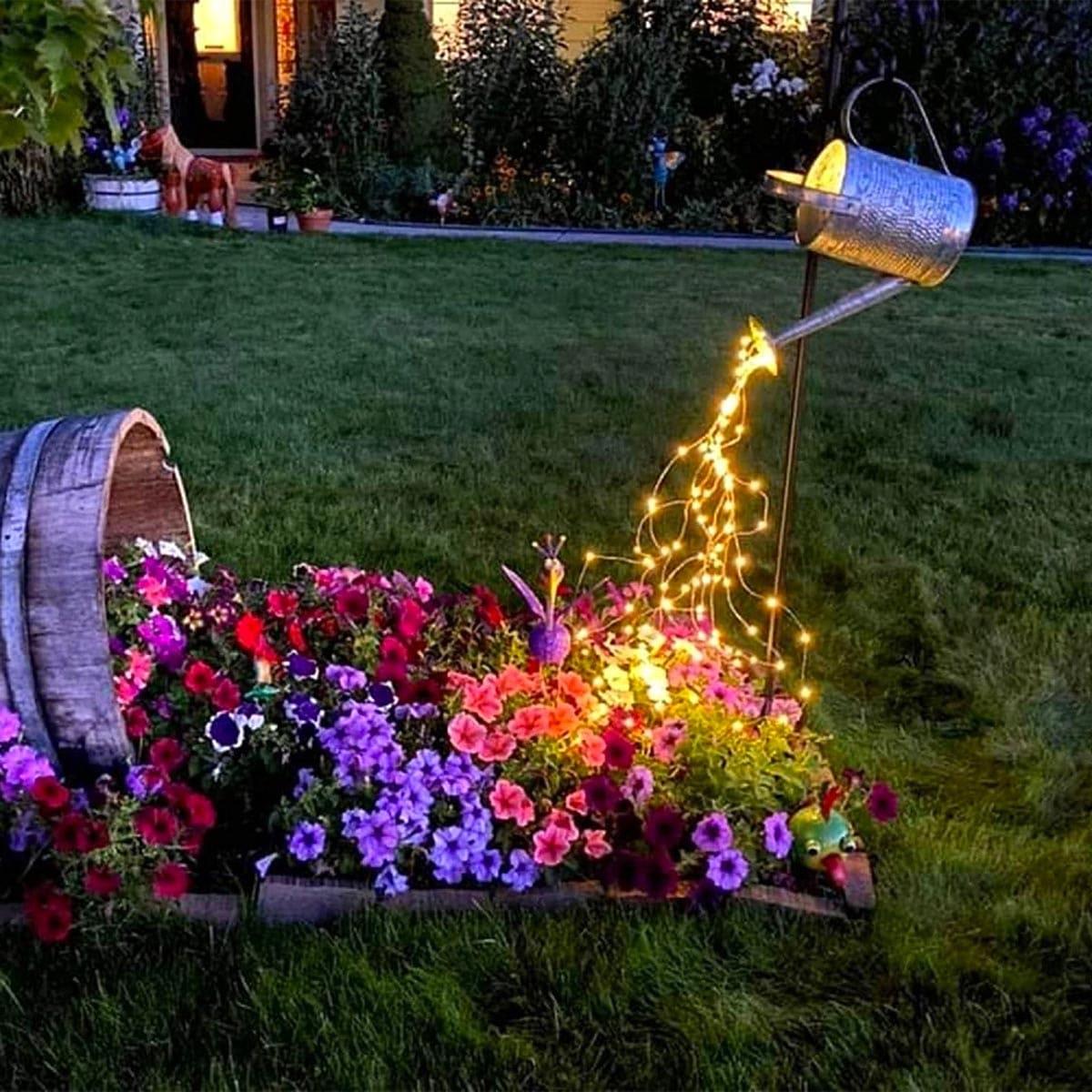 красивый сад частного дома фото 55