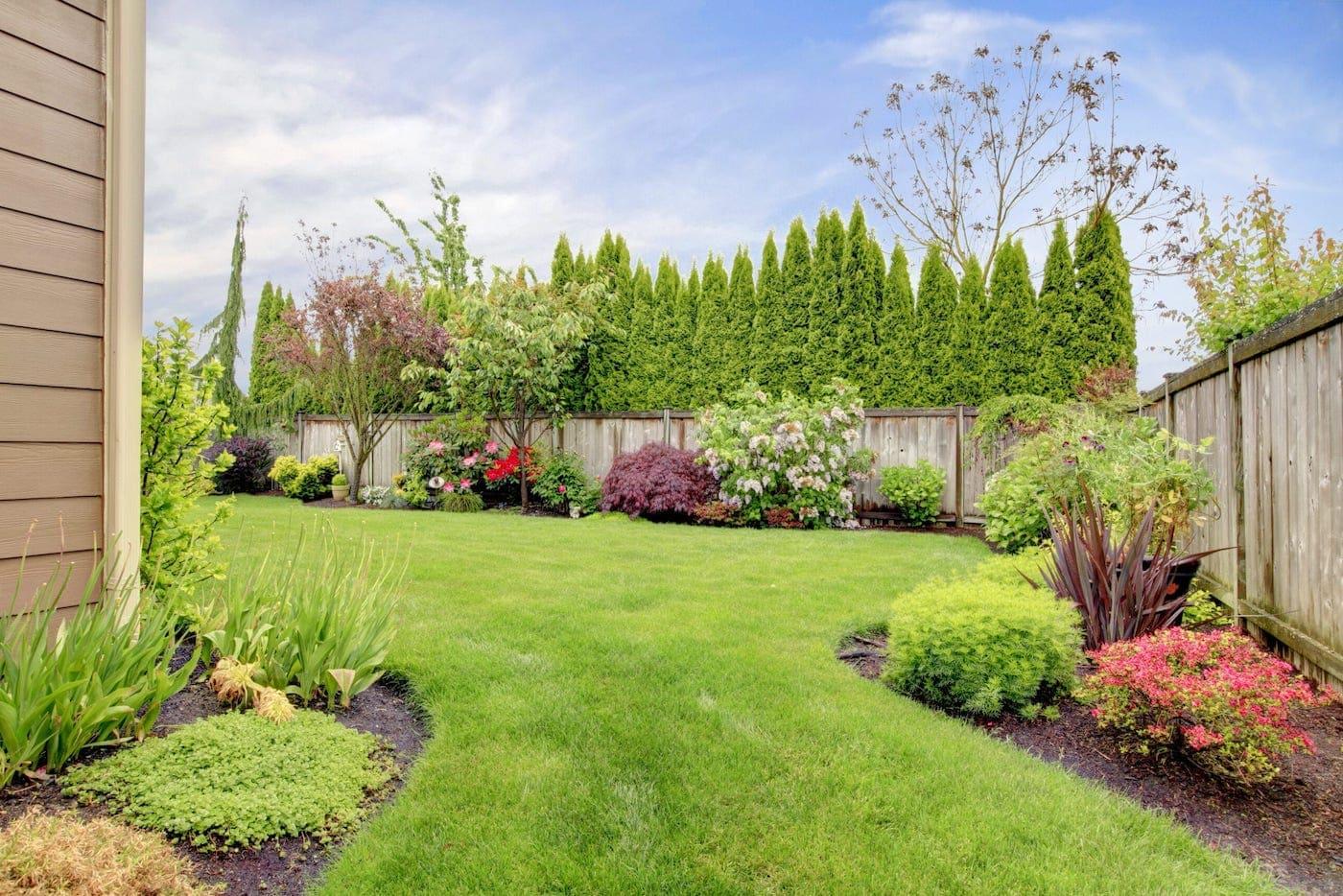 красивый сад частного дома фото 73