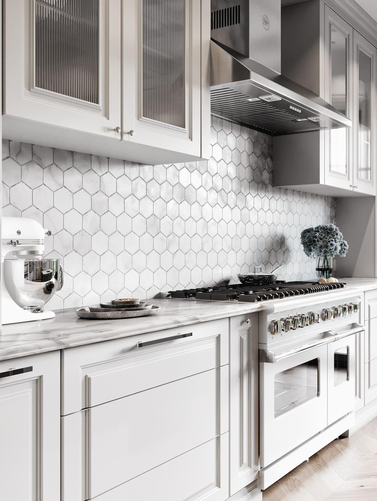 модный интерьер кухни фото 35