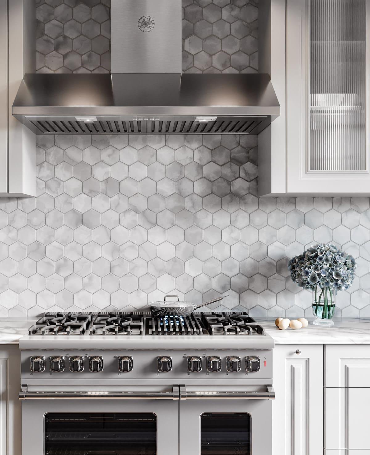 модный интерьер кухни фото 37