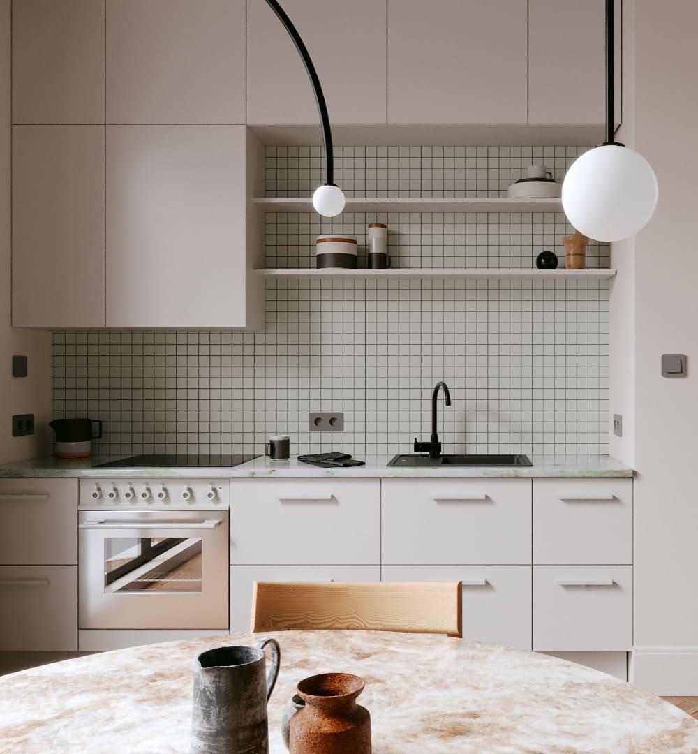 модный интерьер кухни фото 70