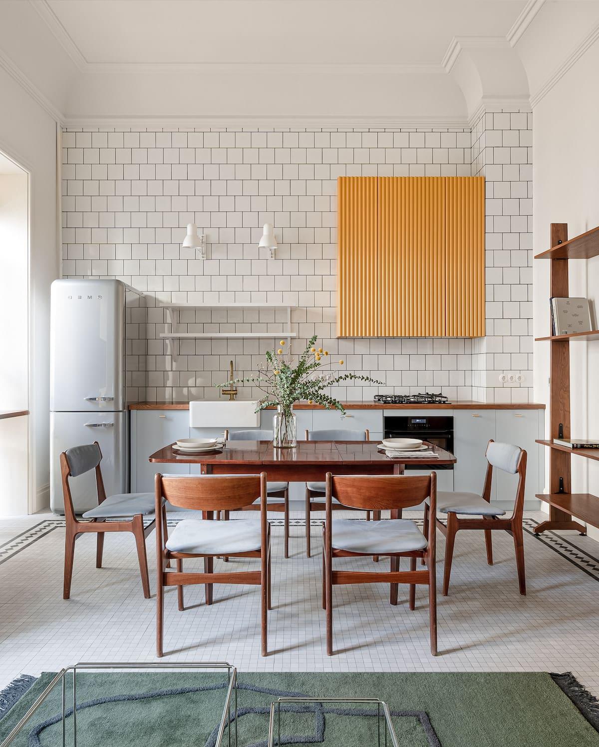 модный интерьер кухни фото 31