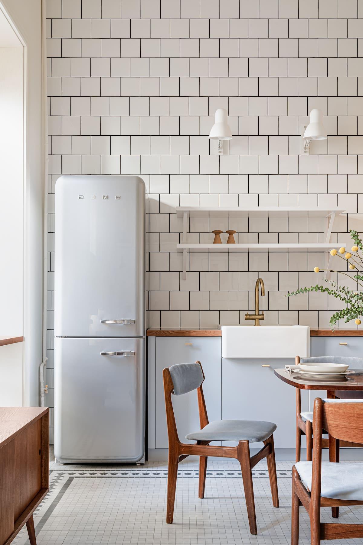 модный интерьер кухни фото 32