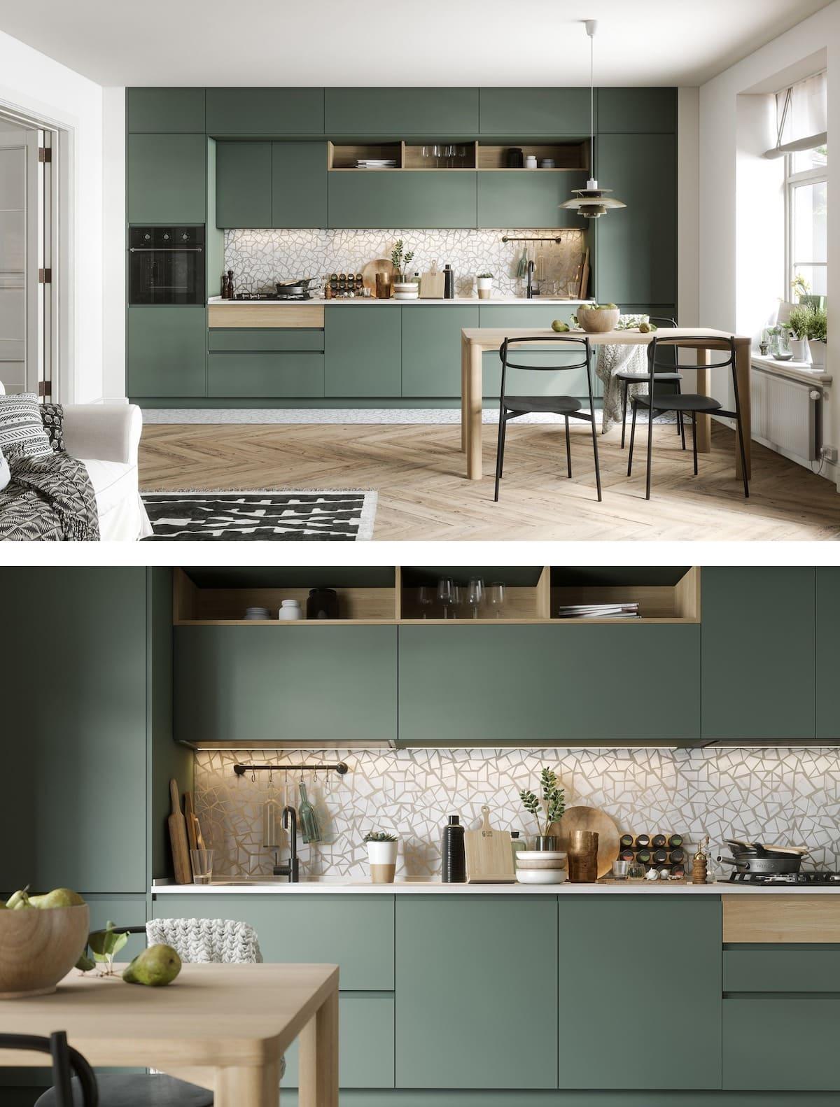 модный интерьер кухни фото 6