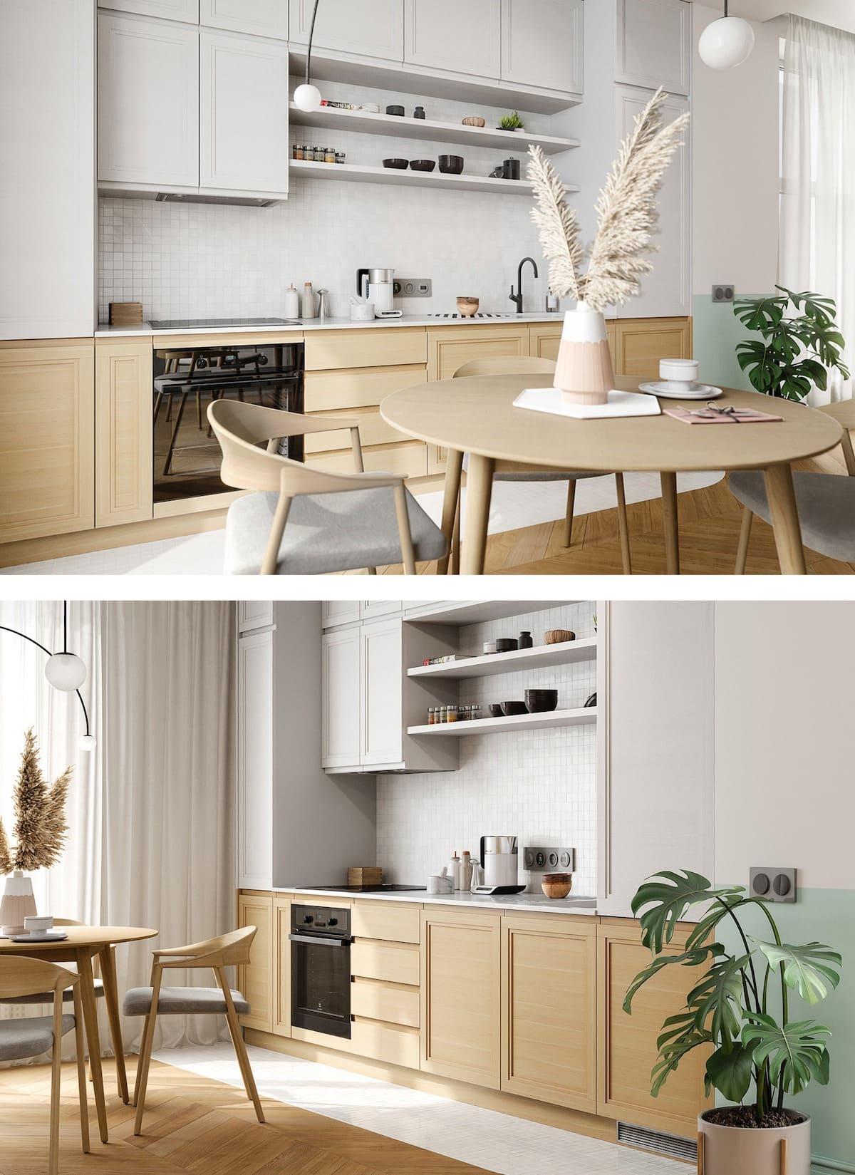 модный интерьер кухни фото 29