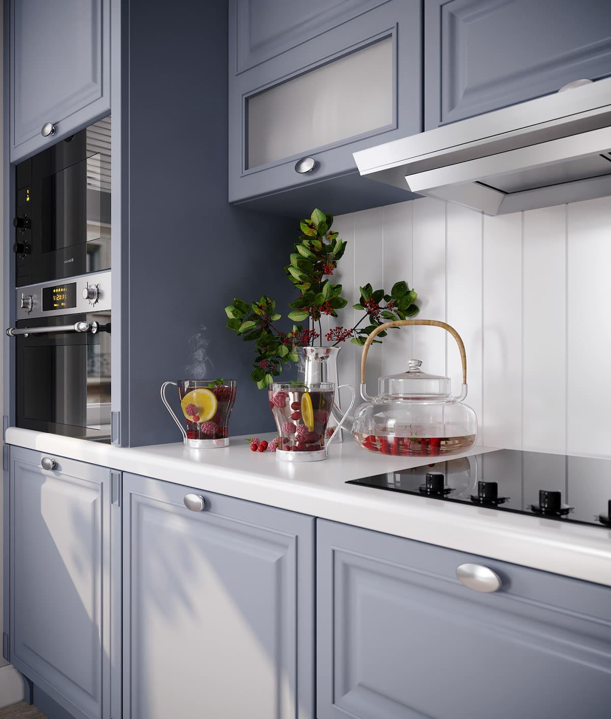модный интерьер кухни фото 64